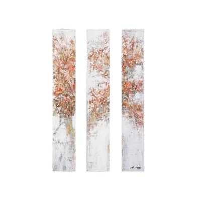 Set 3 cuadros óleo tree - Imagen 1