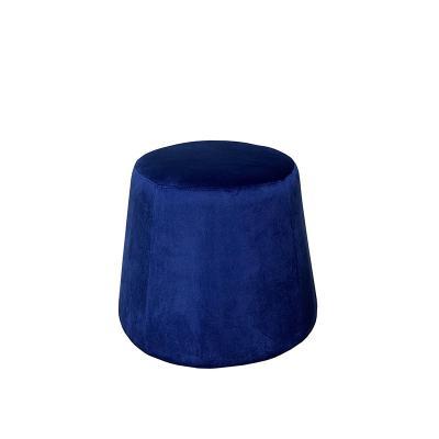 Puf velvet azul - Imagen 1