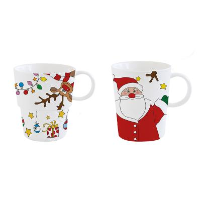 Set 2 tazas grandes Noel - Imagen 1