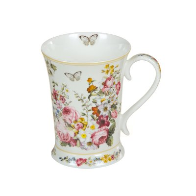Taza porcelana Bloom White - Imagen 1