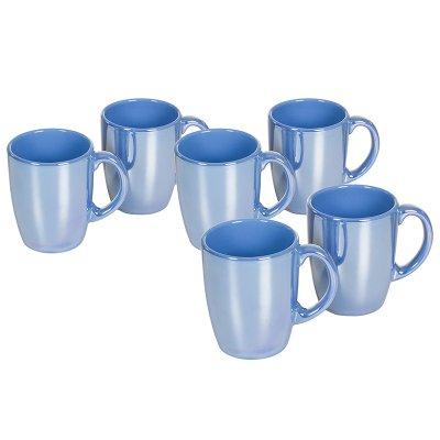 J/6 jarras lustre azul claro - Imagen 1