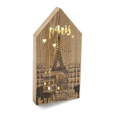 CAJA CON LUZ PARIS - Imagen 1
