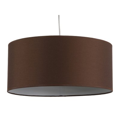 Lámpara de Techo Pantalla en Color Wengué 45 cm - Imagen 1