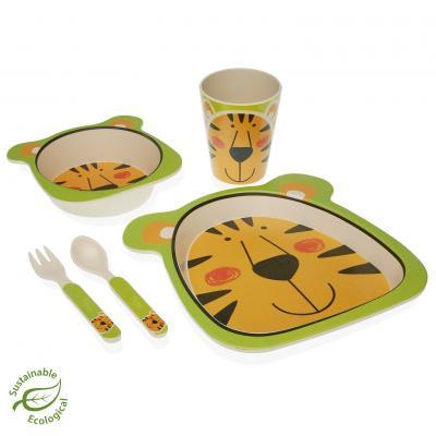 SET 5 PIEZAS INFANTIL TIGRE - Imagen 1