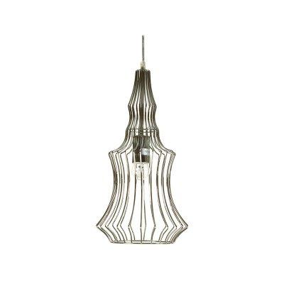 Lamp. techo met.cromada - Imagen 1