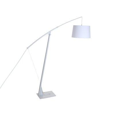 Lámpara de pie blanca - Imagen 1