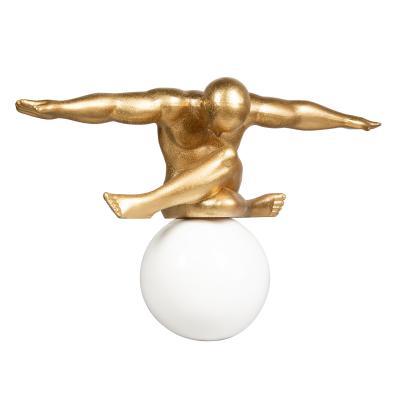 Figura bola oro grande - Imagen 1