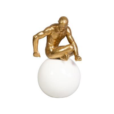 Figura pensador sentado - Imagen 1