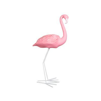 Figura flamingo pequeño - Imagen 1
