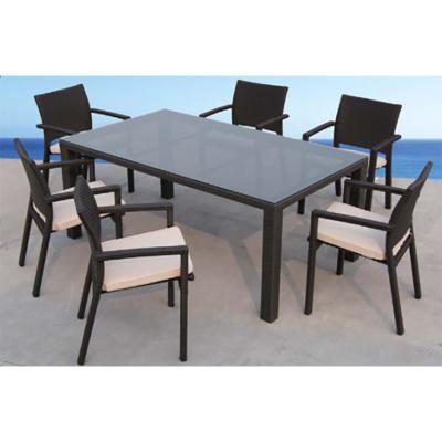 Mesa terraza + 6 sillas - Imagen 1