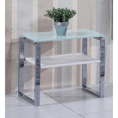 Mesita Cristal Dormitorio Modelo Lucy - Varios Acabados - Imagen 1
