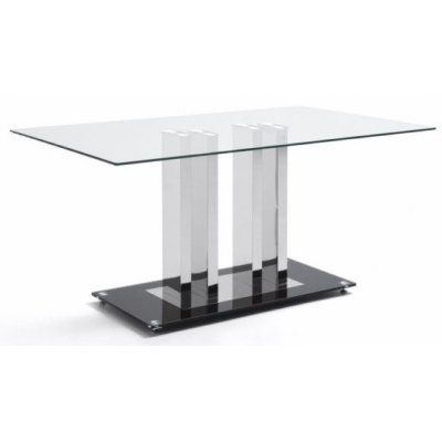 Mesa Comedor Modelo Trinidad Cristal 150x190 - Imagen 1