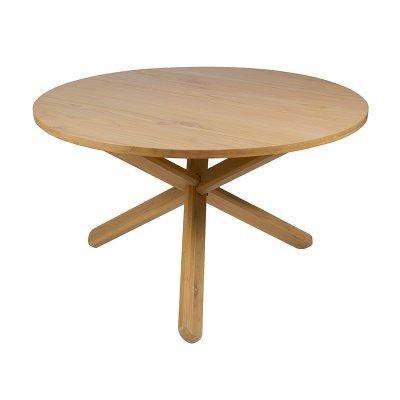 Mesa redonda madera - Imagen 1