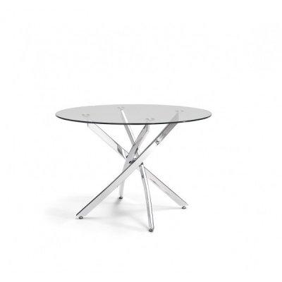 Mesa Comedor Cristal Modelo Fontana - Imagen 1