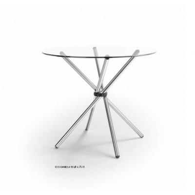 Mesa de Comedor Redonda Modelo Daniela 90 cm - Imagen 1