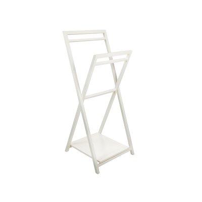 Toallero Blanco Para Baño - Imagen 1
