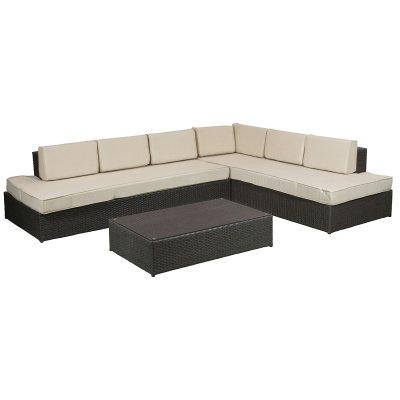 Conjunto sofás con mesa - Imagen 1