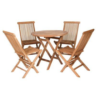 Conjunto de mesa con 4 sillas - Imagen 1