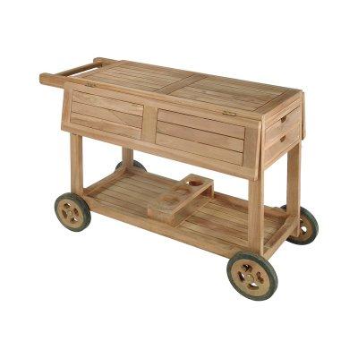 Camarera en madera de teca - Imagen 1