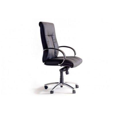 Silla Oficina Executive Piel Negro - Imagen 1