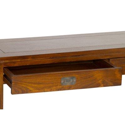 Consola 2 cajones madera - Imagen 1