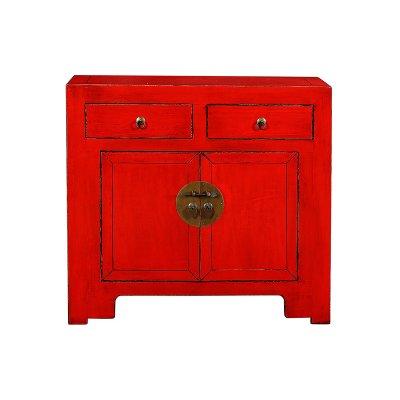 Consola roja 2 puertas 2 c. - Imagen 1