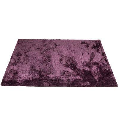 Alfombra Teddy púrpura - Imagen 1