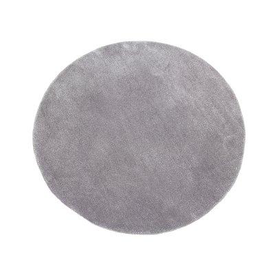 Alfombra redonda gris - Imagen 1