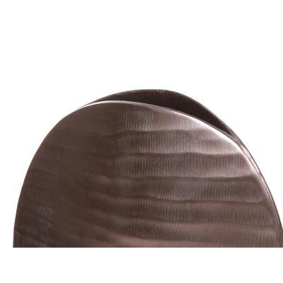 Jarrón oval bronce - Imagen 1