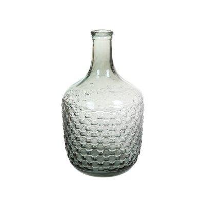Garrafa de cristal gris - Imagen 1