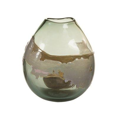 Jarrón cristal decorado - Imagen 1